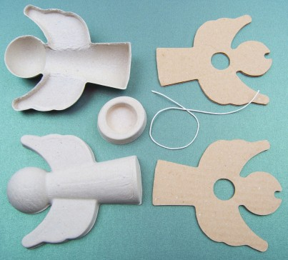 The components required to make one Angel with Wings