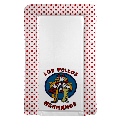 BREAKING BAD  themed changing mat -  Pollos Hermanos