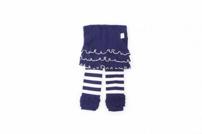 Skirtle - Navy Stripes