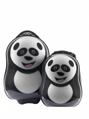 Cheri the panda Cutie trolley case and back pack set from the Cuties and Pals