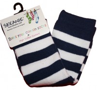 Socks - Navy Stripes