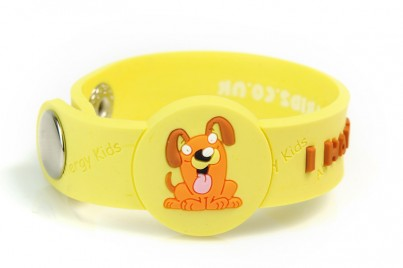 """I Have A Dog Alergy"" Awareness wristbandl"